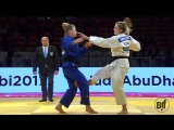 Emily BURT  - Agata OZDOBA  U63 (Grand Slam Abu Dhabi 2017) #bjf_judo