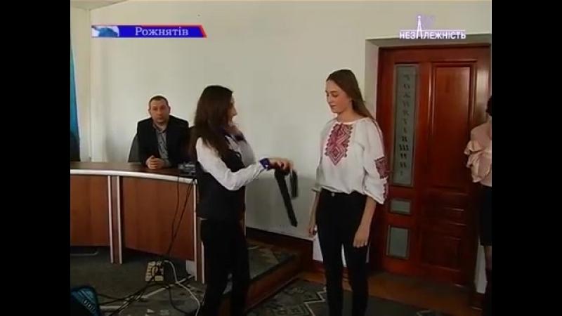 Старшокласники Рожнятівщини обрали нового голову ради лідерів учнівського самоврядування