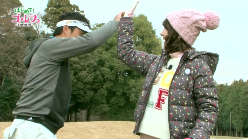 180109 Kashiwagi Yuki - Hajimete! Golf Season 2 ep.05 (LaLa TV)