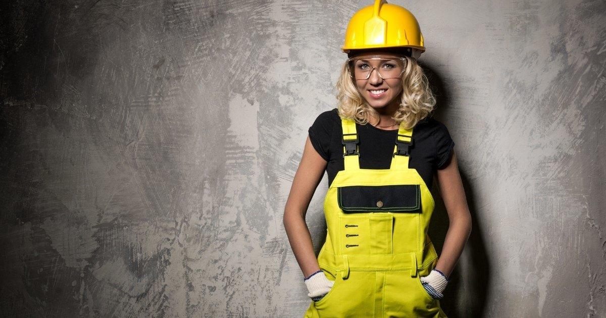 Девушка в рабочей форме фото — photo 7