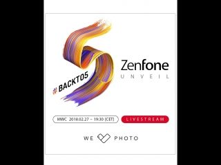 Презентация смартфонов ASUS ZenFone нового поколения на MWC18