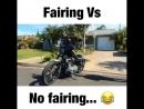 Fairing vs No fairing