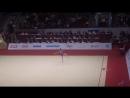 Дарья Трубникова - лента многоборье Квалификационный отбор на ЮОИ