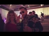 Фёрги на вечеринке в честь дня рождения Джейми Йовине.