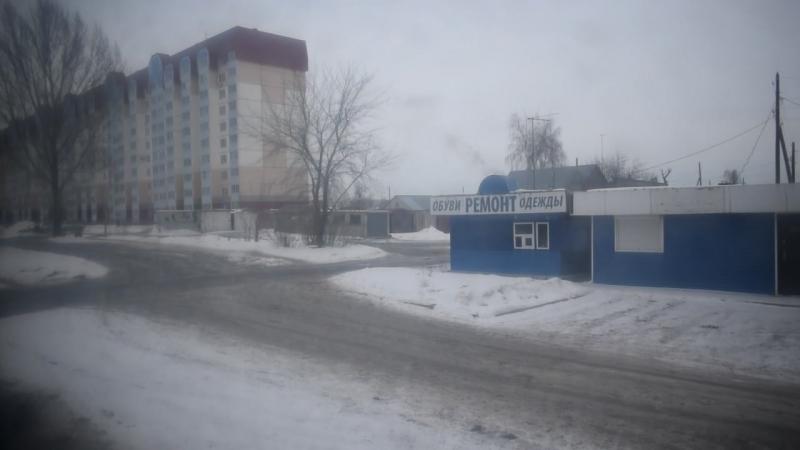 Троллейбус ЗиУ-682 КВР БТРМ-4001. Покатушки по Барнаулу-1.