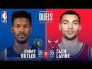Versus battle  Jimmy Butler and Zach LaVine February 9, 2018