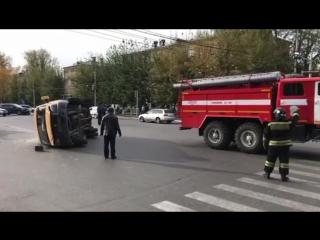 Авария в Кызыле