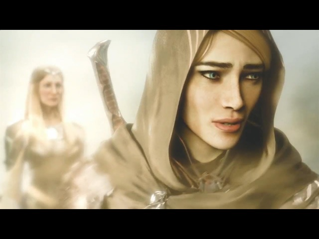 Middle earth Shadow Of War The Blade of Galadriel Story DLC Opening Cutscene PS4 Xbox One PC