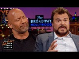Jack Black &amp Dwayne Johnson Had Very Different First Kisses