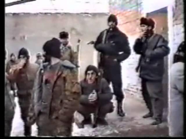 Азербайджанец Мамед Керимзаде - старшина Майкопской бригады в Чечне.