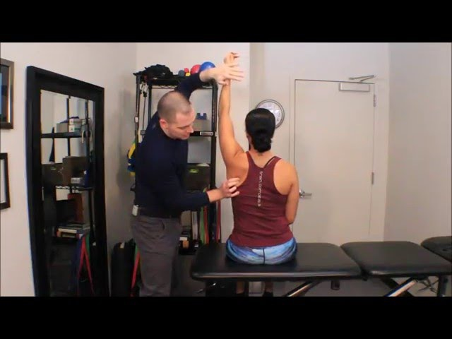 Serratus Anterior Manual Muscle Testing (MMT) for an Active Population
