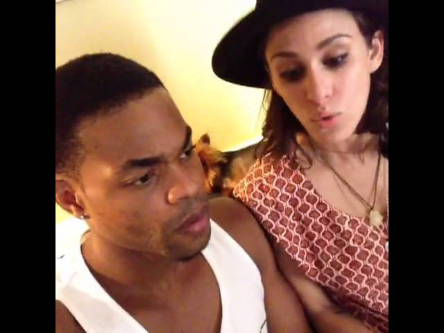 Never ask a white person to drop the beat w Brittany Furlan KingBach By KingBach