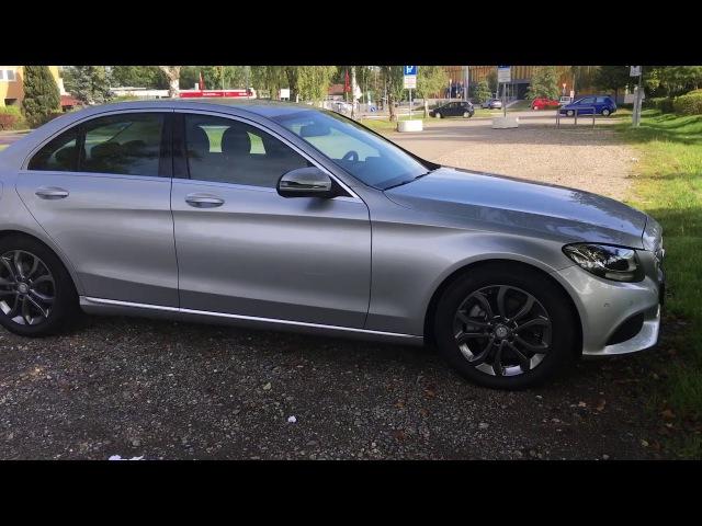 Mercedes Benz C220 w205 общее мнение об автомобиле
