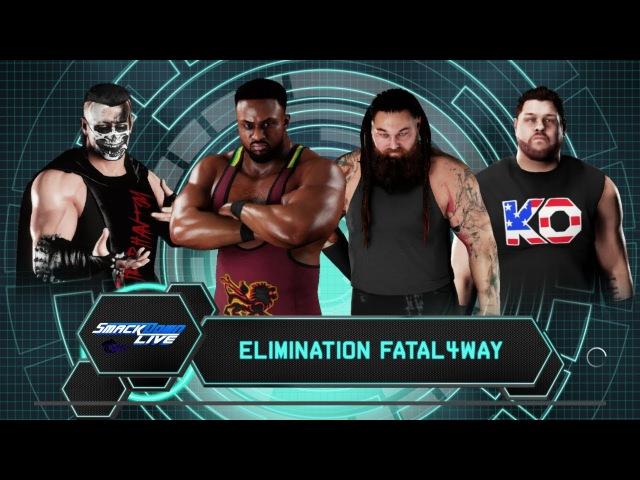 SBW SmackDown - Big E vs Bray Wyatt vs The Phantom vs Kevin Owens