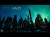 January Auroras in Lapland, Finland