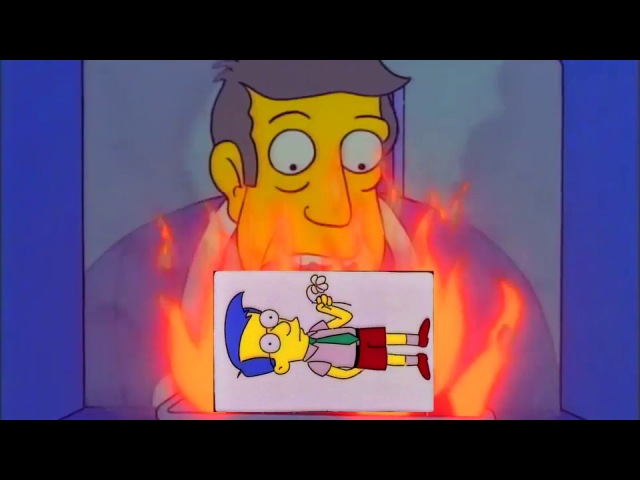 Steamed Hams but they got The Dud