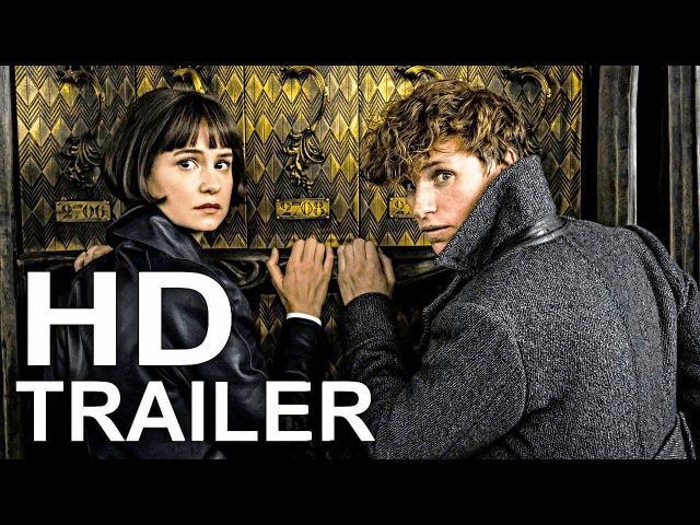 FANTASTIC BEASTS 2 Official Trailer 1 (2018) J.K. Rowling Fantasy Movie HD