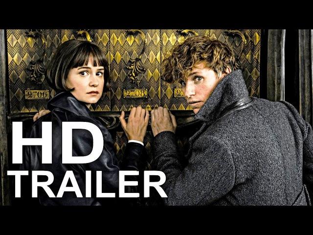 FANTASTIC BEASTS 2 Official Trailer 1 (2018) J.K. Rowling Fantasy Movie HD