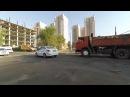 Алматы На велосипеде Начало осени. Нижняя часть города