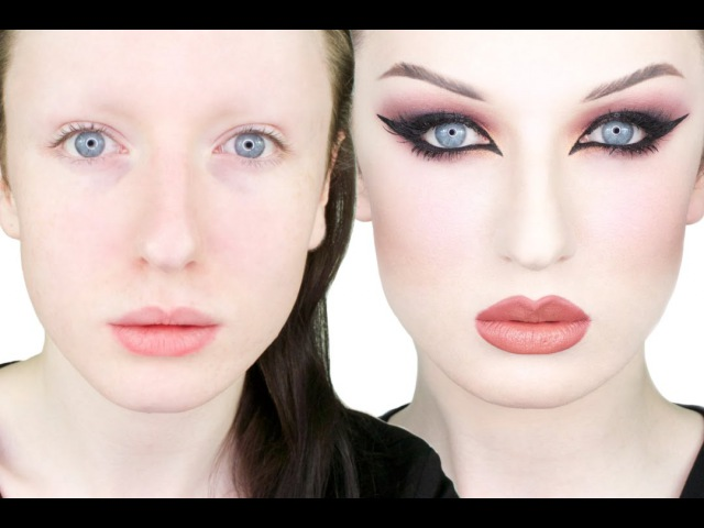 Extreme Transformation - Burgundy Cat Eye Tutorial | John Maclean
