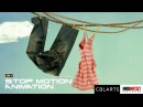 "Stop Motion Animated Short  Film ""FOR SOCK'S SAKE"" Interesting Animation by Carlo Vogele & CalArts"