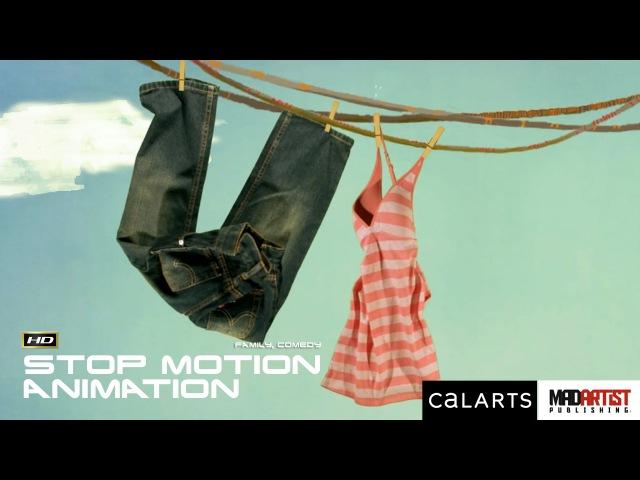Stop Motion Animated Short Film FOR SOCK'S SAKE Interesting Animation by Carlo Vogele CalArts