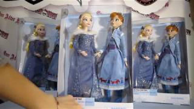 Анна и Эльза Дисней набор приключение Олафа. Anna and Elsa Classic Olaf's Frozen Adventure