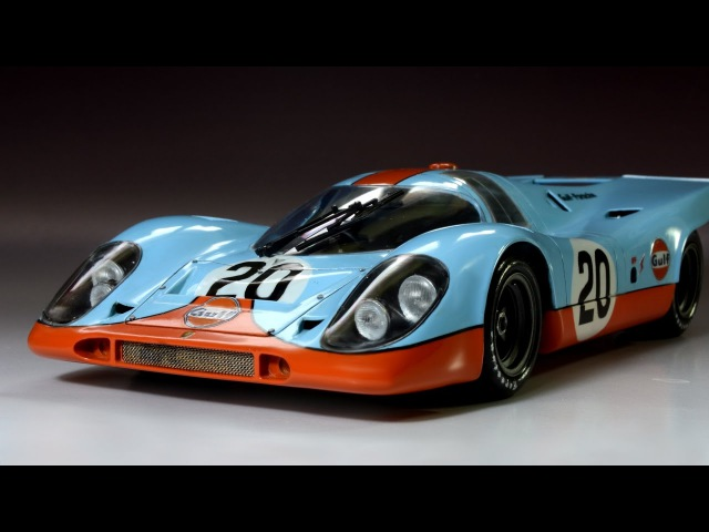 Porsche 917 Gulf 24 Hours of Le Mans Fuijimi 1/24 - car model