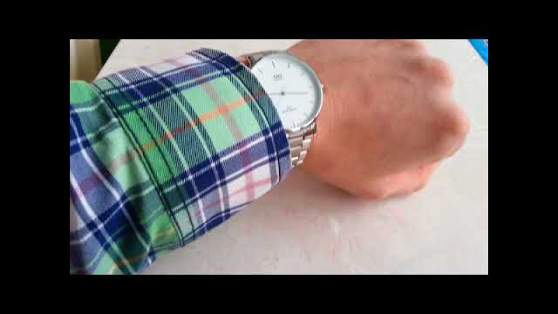 Q Q Не дорогие но стильные мужские часы с японским механизмом