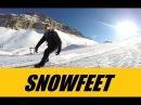 Snowfeet Mini Skis New Booming Winter Sport