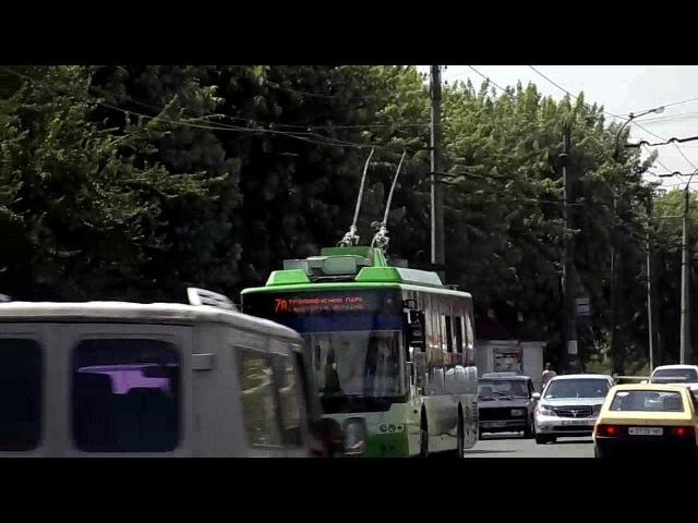 Черкасский троллейбус 384 – 24.07.2017