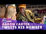 Aaron Carter Tweeted His Real Number in the Q Studio and We Facetimed His Fans - YouTube