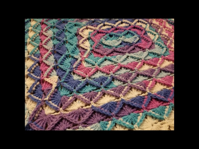 The Bavarian Stitch Blanket Crochet Tutorial!