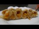 Фруктовый пирог с персиками Улитка рецепт от Inga Avak