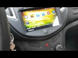 Chevrolet tracker radio dvd android
