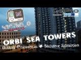 Честно О... Orbi Sea Towers . Batumi Colloseum seaview timelapse 4K