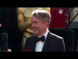 Watch Carter Burwell on the Oscars Red Carpet with Oscars 2018 All Access
