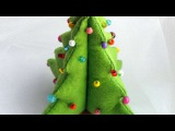 How To Make A DIY Felt Christmas Tree - DIY Crafts Tutorial - Guidecentral