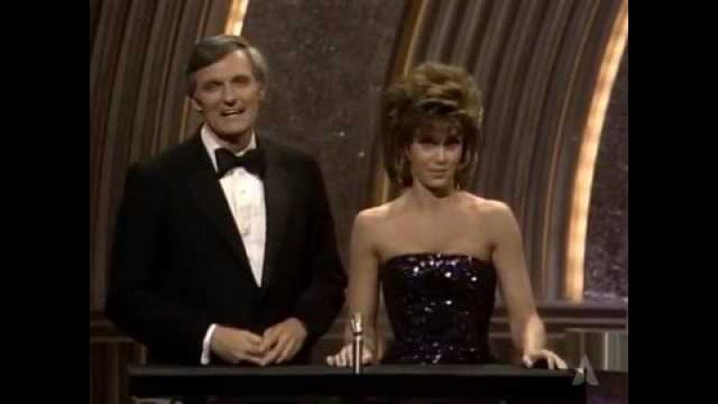 Jane Fonda and Alan Aldas Opening Monologue 1986 Oscars