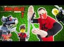 """КСКН и LEGO Ninjago Сборка СТРАЖЕЙ из набора ЛЕГО """"Храм последнего великого оружия""""..."""
