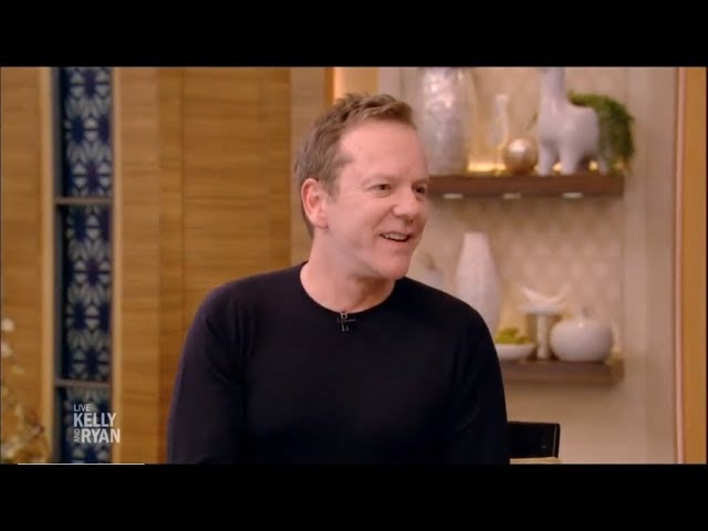 Designated Survivor's star Kiefer Sutherland Interview | Live with Kelly and Ryan