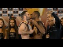 Гассиев - Дортикос :  Взвешивание HD | Gassiev vs Dorticos - Weigh In and FACE OFF HD