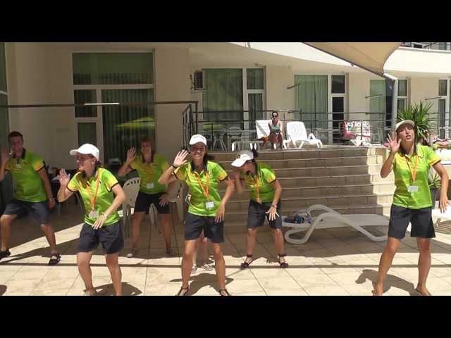 Jambo Mambo - taniec popularny na Bałkanach w 2011 roku - Hotel Festa Panorama Nesebar