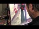 Научиться рисовать цветы в вазе, Игорь Сахаров, живопись для начинающих, уроки рисования