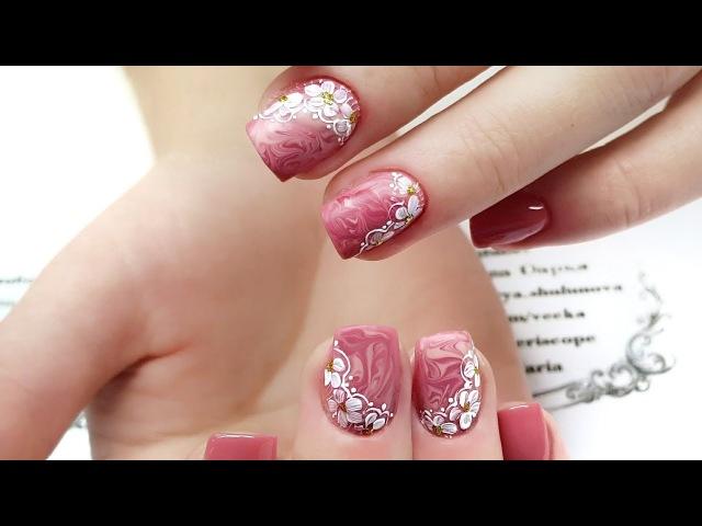 ENG CC Наращивание ногтей без форм. Наращивание на обкусанные ногти. Слабонервным не смотреть