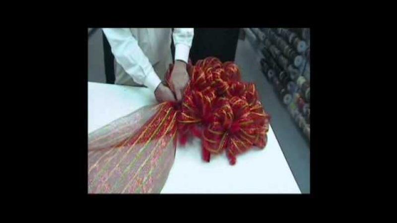 Wide Mesh Ribbon Wreath - Trees n Trends
