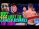 WHY GOLOVKIN Lost To CANELO ALVAREZ ''Mexican Style'' Rds 1-12 Missed PUnches!