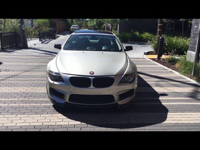 Custom 2007 BMW 6 Series 650i, Custom Body kit in Warranty 13k mi