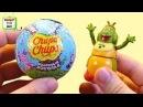 Чупа Чупс Лунтик и его друзья, игрушки в шоколадных сюрпризах, круглый киндер