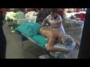 Чемпионат ЦПРМ по массажу. Татьяна Грибалёва, массаж предплечьями